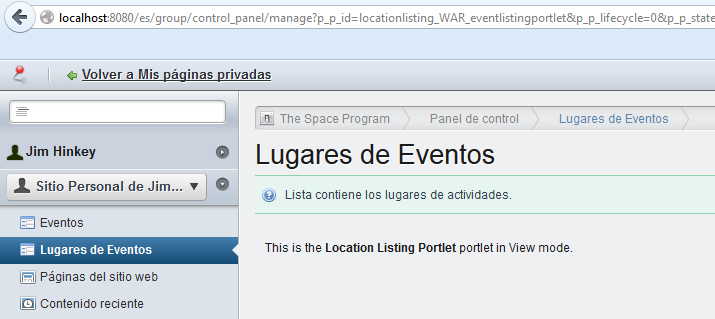 Figure 3.12: Its easy to localize titles and descriptions for multiple portlets in your project.