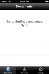 Figure 4.40: iOS Settings