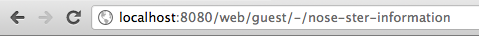 Figure 5.16: The Canonical URL