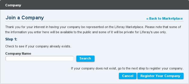 Figure 13.6: Creating a Company