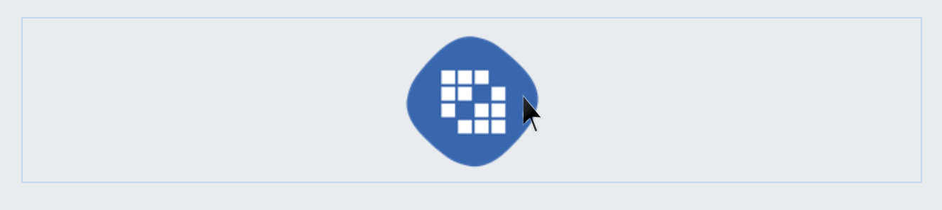 Figure 3: When you mouse over an editable image, a blue outline appears. You can replace it by clicking on it.