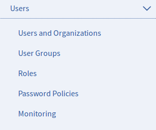Figure 2: The Users section of the Control Panel. This screenshot shows a portal that doesnt have the EE Audit plugin installed.