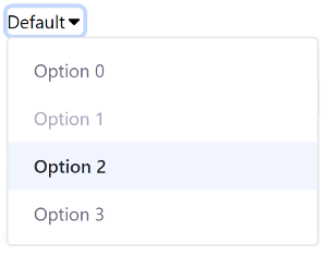 Figure 1: Clay taglibs provide everything you need to add dropdown menus to your app.