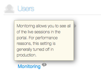 Figure 2: Heres an example of how Liferay Portal uses tooltips.