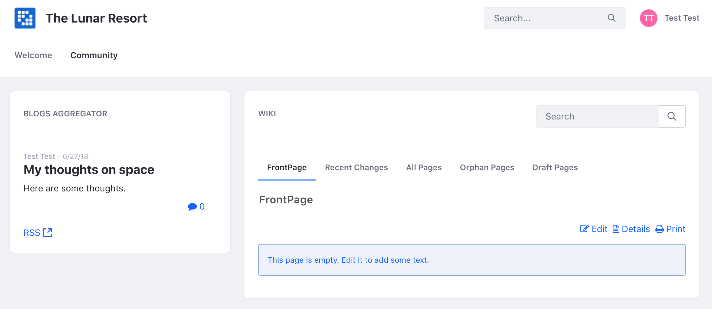 Figure 3: Your page layout options are virtually limitless with a slew of application and layout combinations.