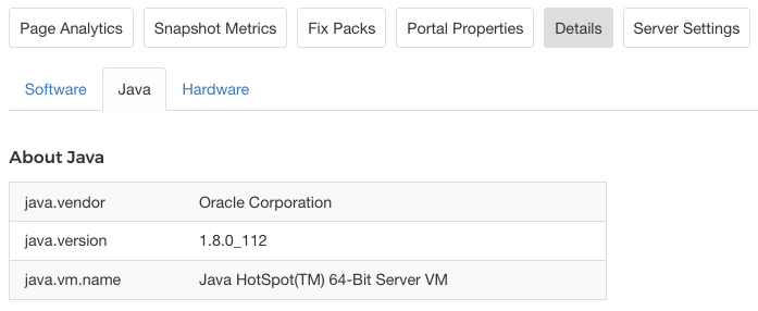 Figure 4.18: The Details tab shows information about your server.