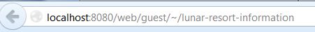 Figure 6.18: The Canonical URL