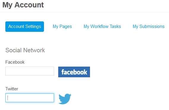 Figure 10.29: Register your Twitter account.