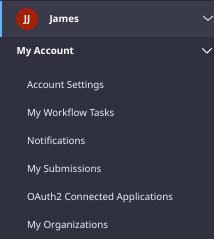 Figure 1: Users manage workflow tasks from their My Workflow Tasks widget.