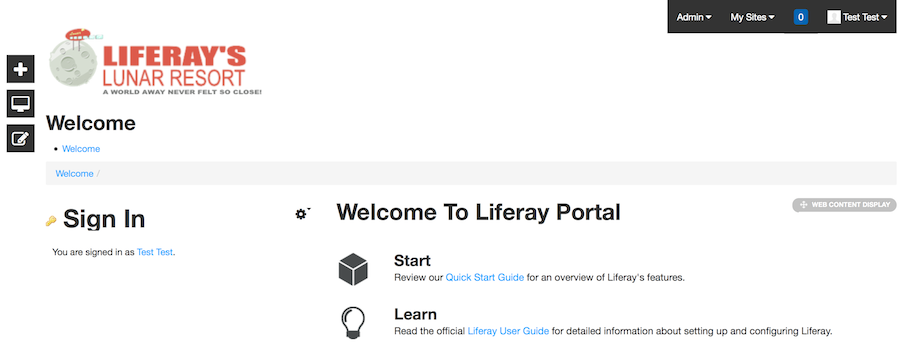 Figure 1: Liferays _styled base theme is a good starting point.