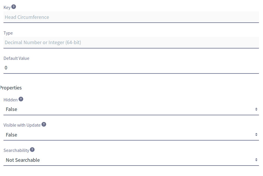Figure 3: Custom Fields can be configured after you create them. The exact options depend on the field type you choose.
