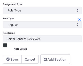 Figure 1: You can add an Assignment to a Task node.