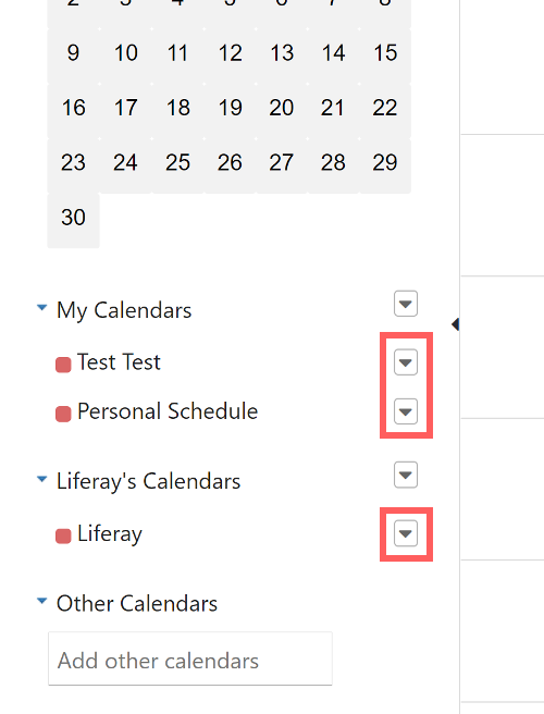 Figure 6: Email templates apply to a single calendar and all its events.
