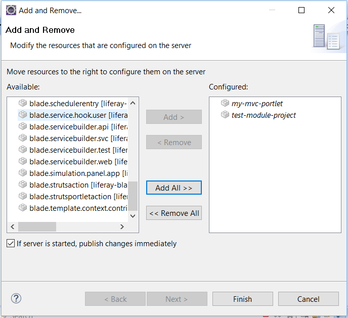 Figure 1: Using the this deployment method is convenient when deploying multiple projects.